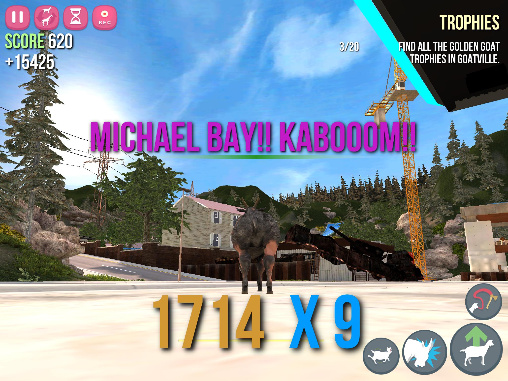 iPad Pro 9.7 er helt utmerket til å spille Goat Simulator på. Er du ikke i humør til å leke Michael Bay med ei sinna geit finnes det heldigvis en haug andre titler du kan installere. Og dette brettet er såpass kraftig at det bør kunne trekke det meste også langt inn i fremtiden. Bilde: Finn Jarle Kvalheim, Tek.no