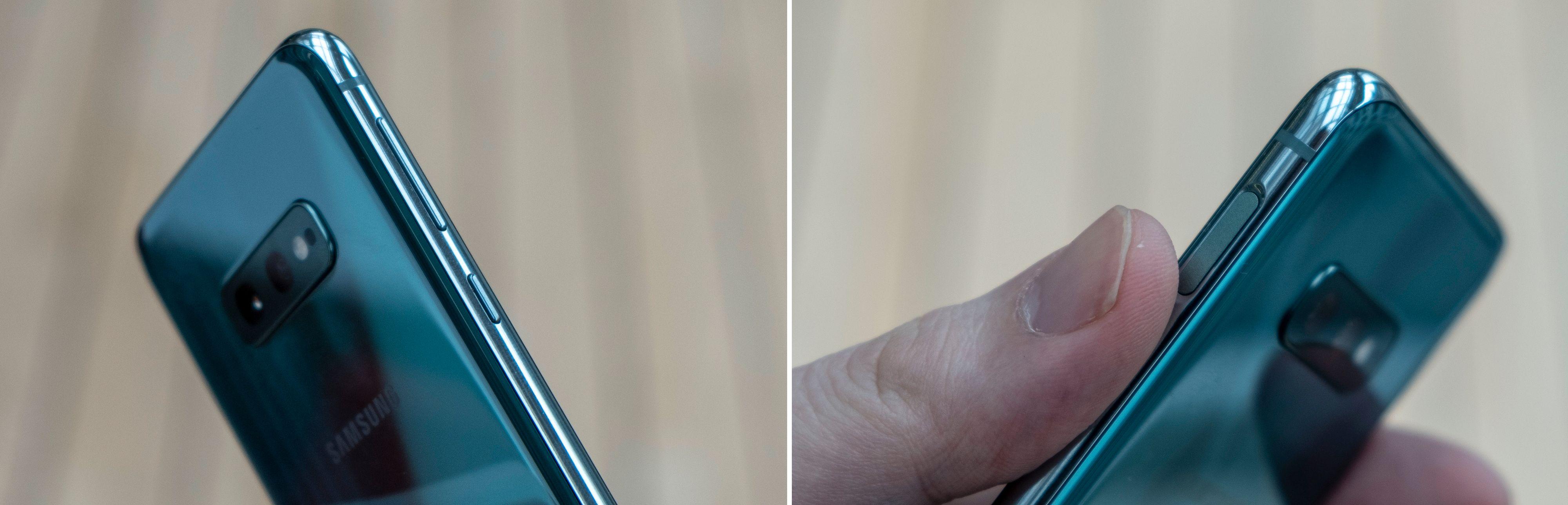 Samsungs Bixby-assistent snakker fortsatt ikke norsk og er fortsatt ikke så veldig nyttig. Men knapp skal den ha. Det er mulig å starte apper og funksjoner med knappen, men helt unna Bixby slipper du ikke.
