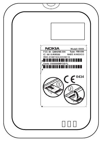 Patenttegningen til Nokia. (Foto: Nokia)