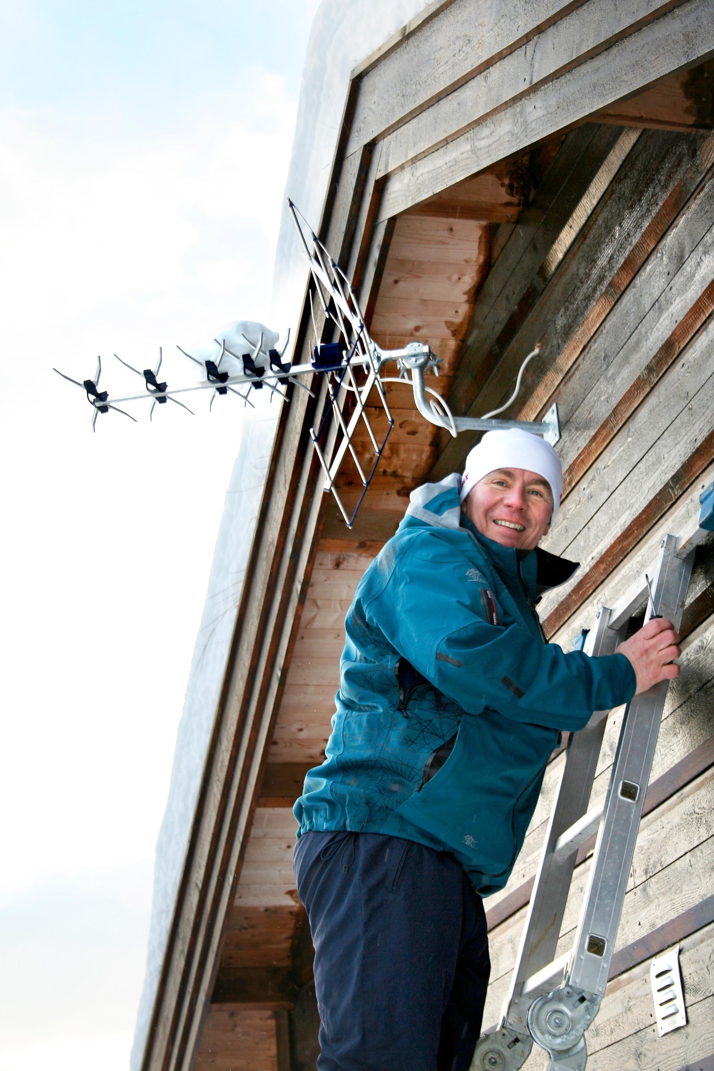 Jens-Petter Gjelseth, informasjonssjef i Riks TV. Foto: Riks TV