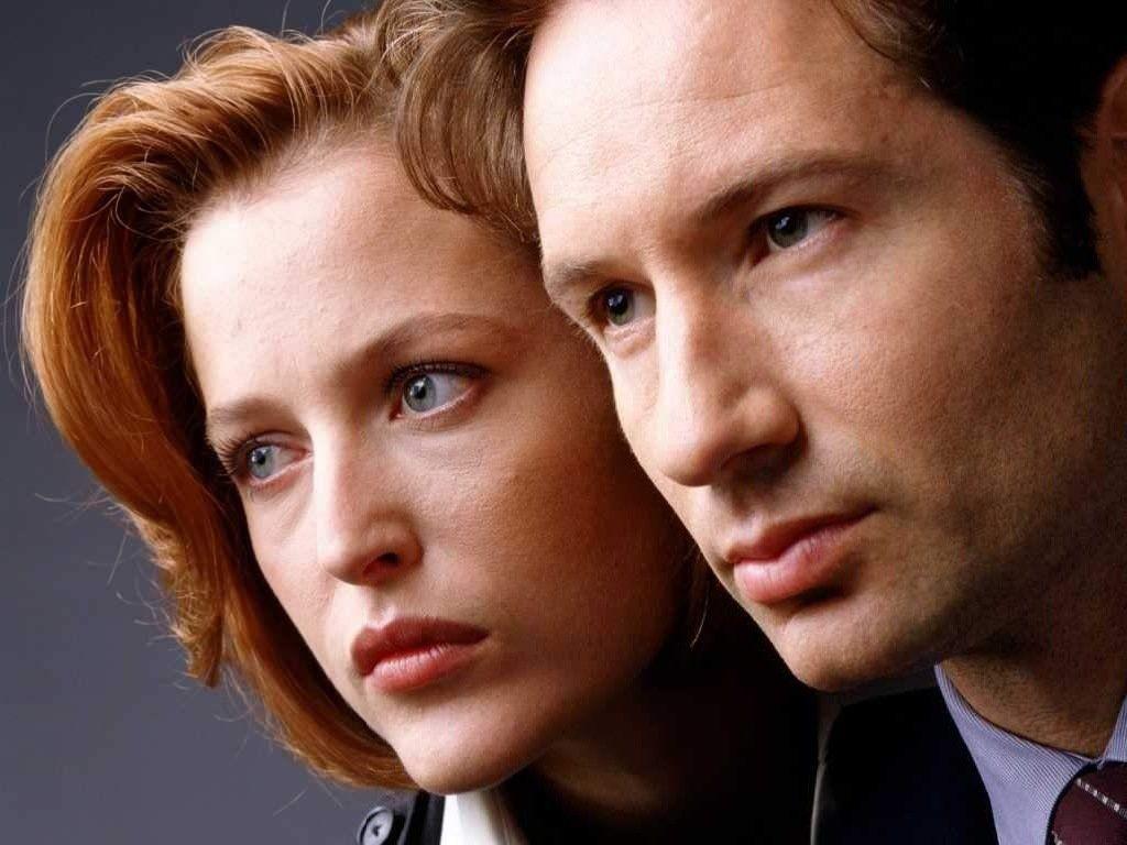 Slik husker du Mulder og Scully – i 4:3-format.