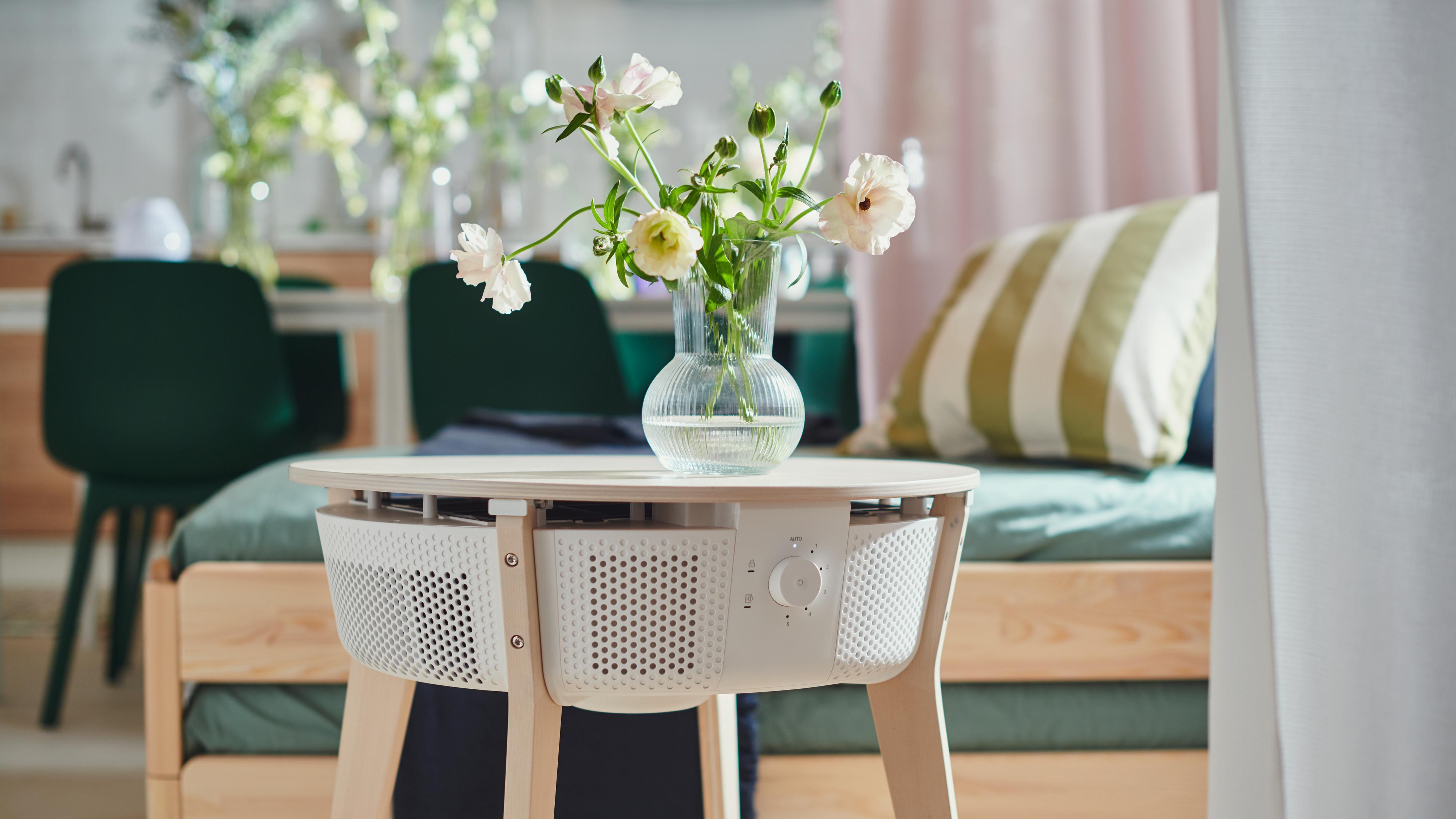 Ikea slipper smart luftrenser forkledd som et bord