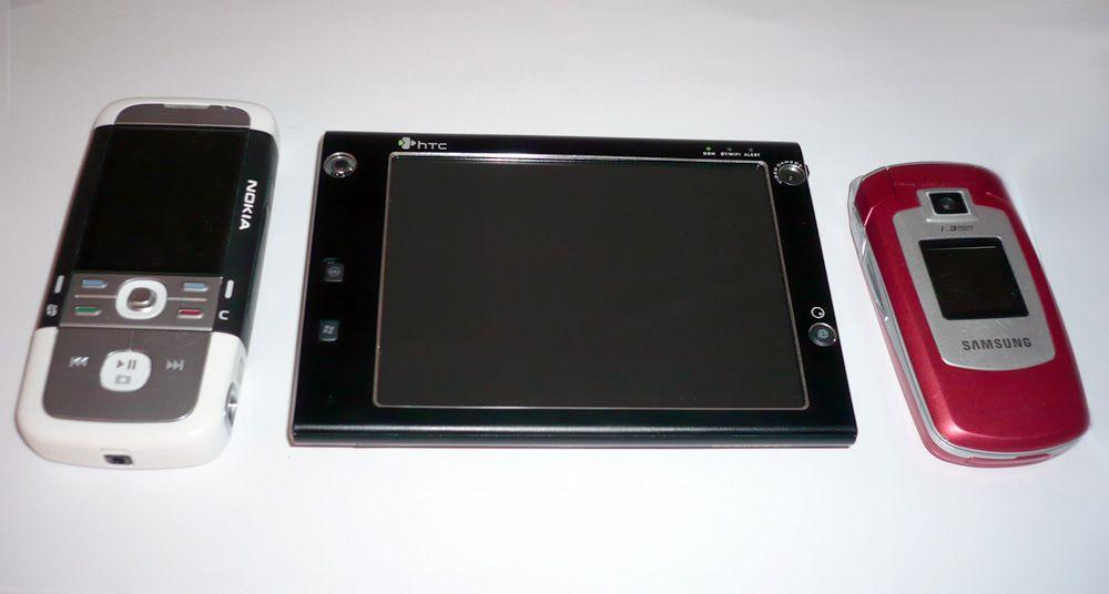 """HTC X7500 """"Advantage"""""""