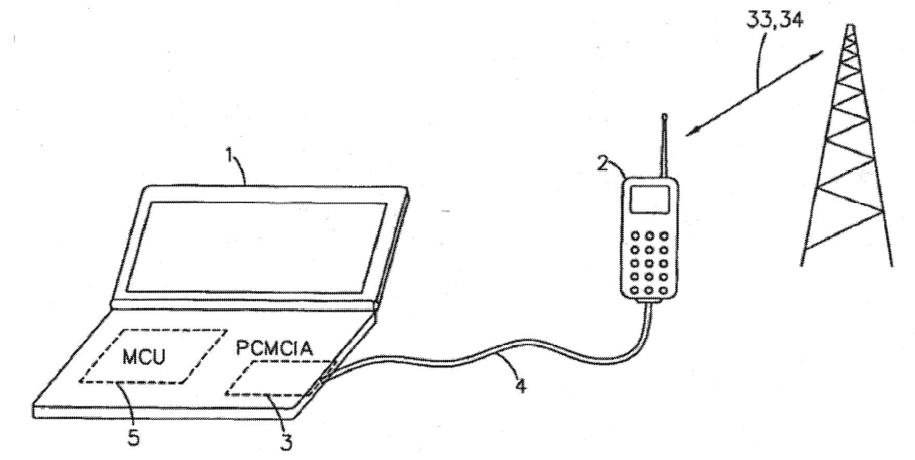 Slik så Nokia for seg nettdeling før det egentlig fantes noe nett å dele.