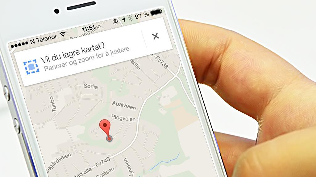 Stor oppgradering av Google Maps