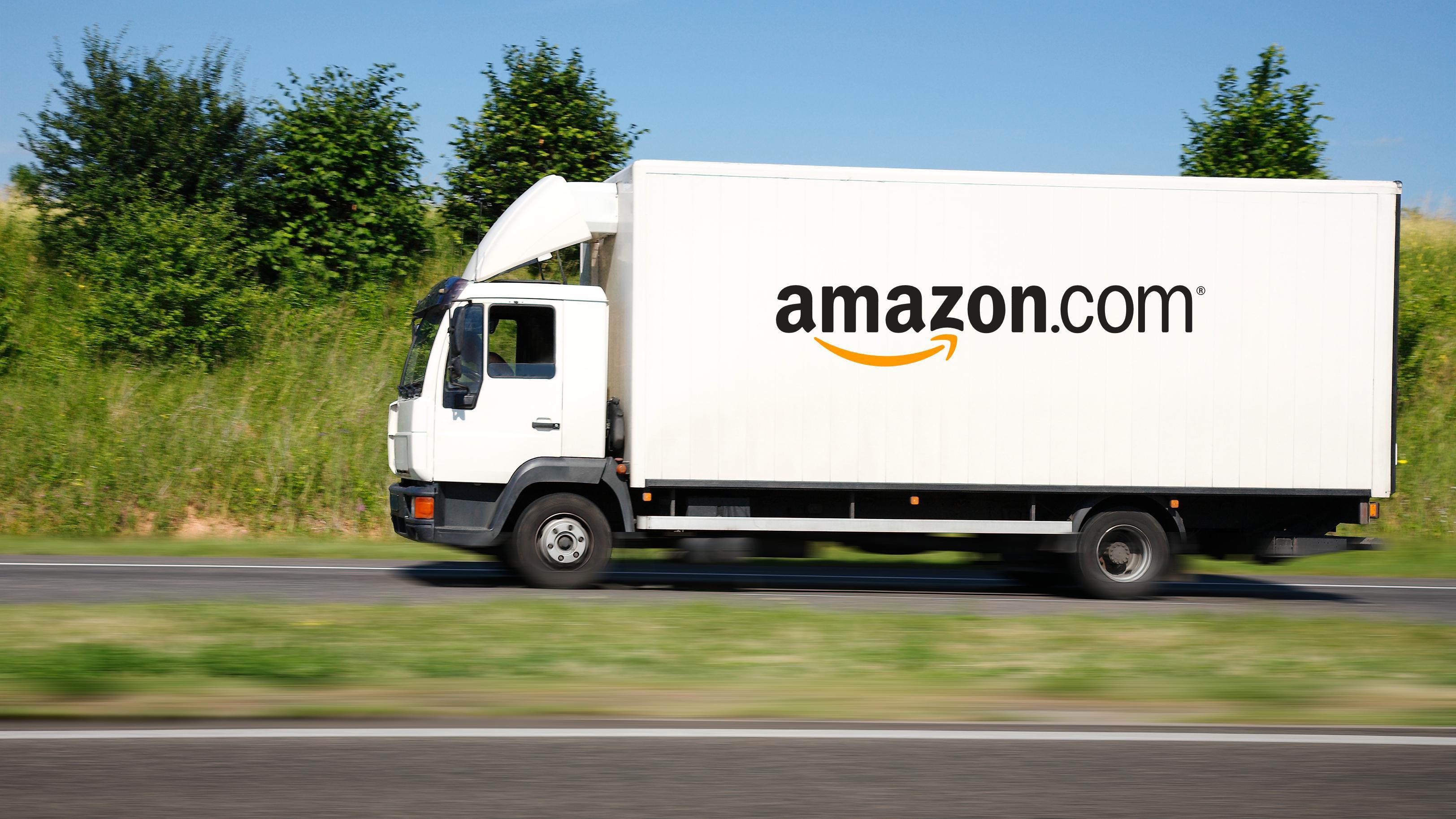 Amazon vil 3D-skrive varer i lastebiler på vei til kundene