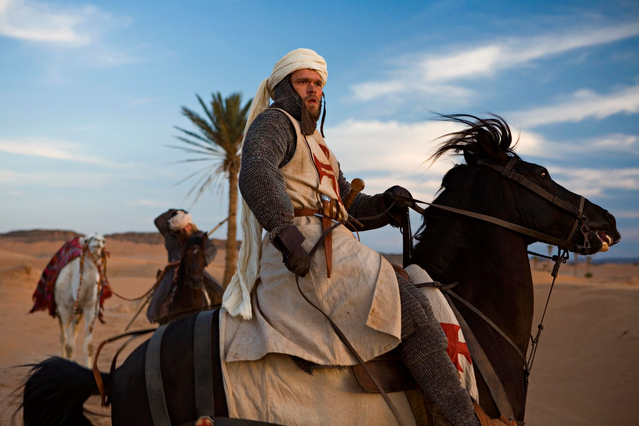 Arn blir sendt til Det Hellige Land for å kjempe som tempelridder.