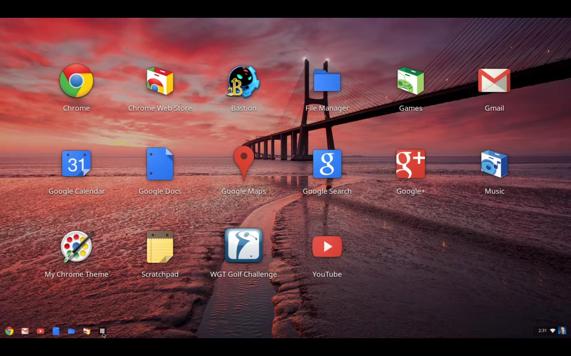 Chrome OS.