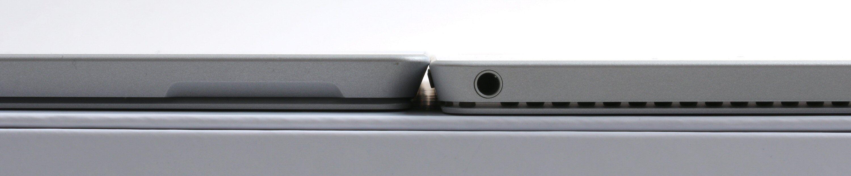 Forskjellen i tykkelse mellom Pro 3 og Pro 4 skal være på 0,76 millimeter. Foto: Vegar Jansen, Tek.no