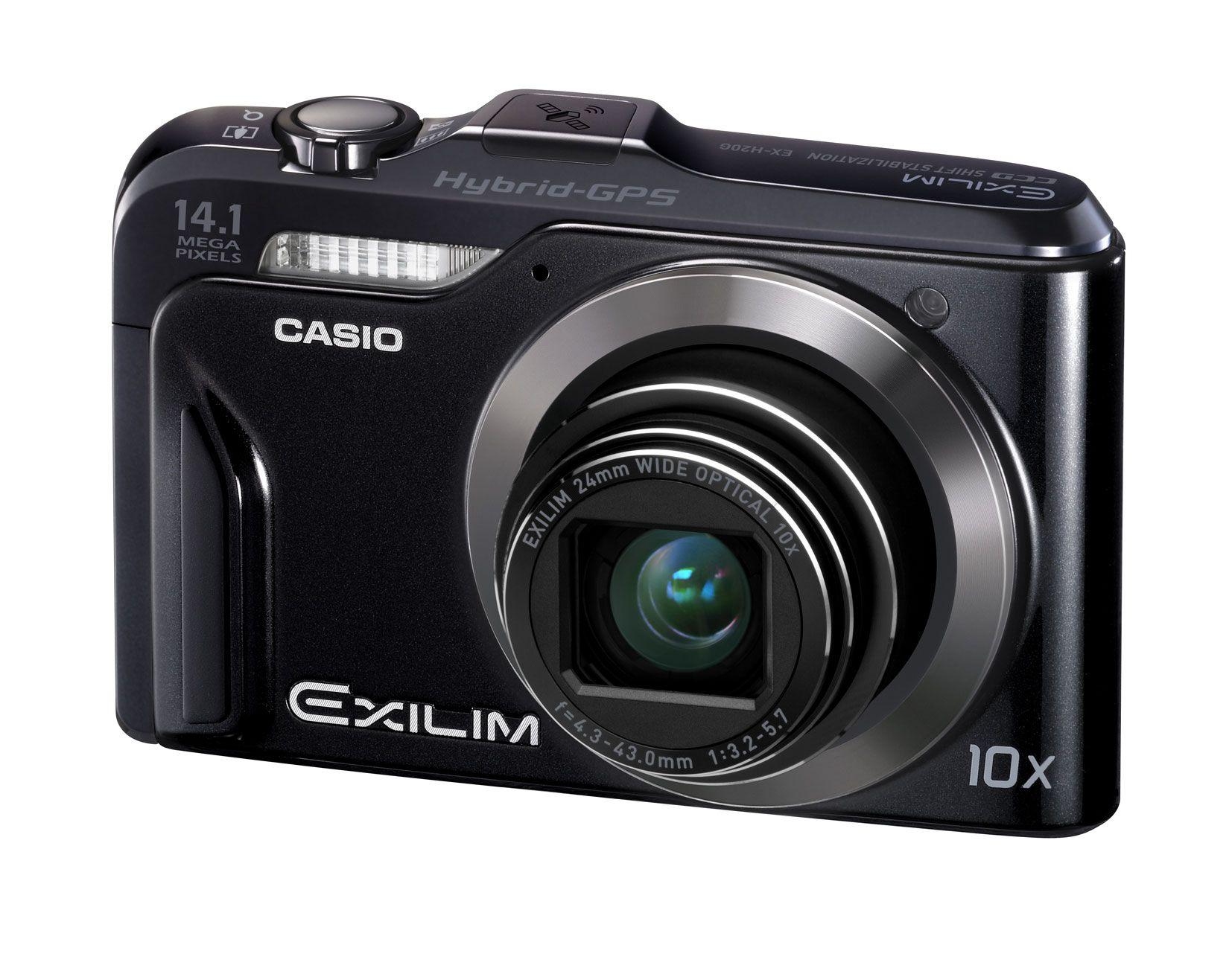 Casio Exilim H20G er et mer avansert kamera. Pass deg så det ikke ødelegger reisen for deg.