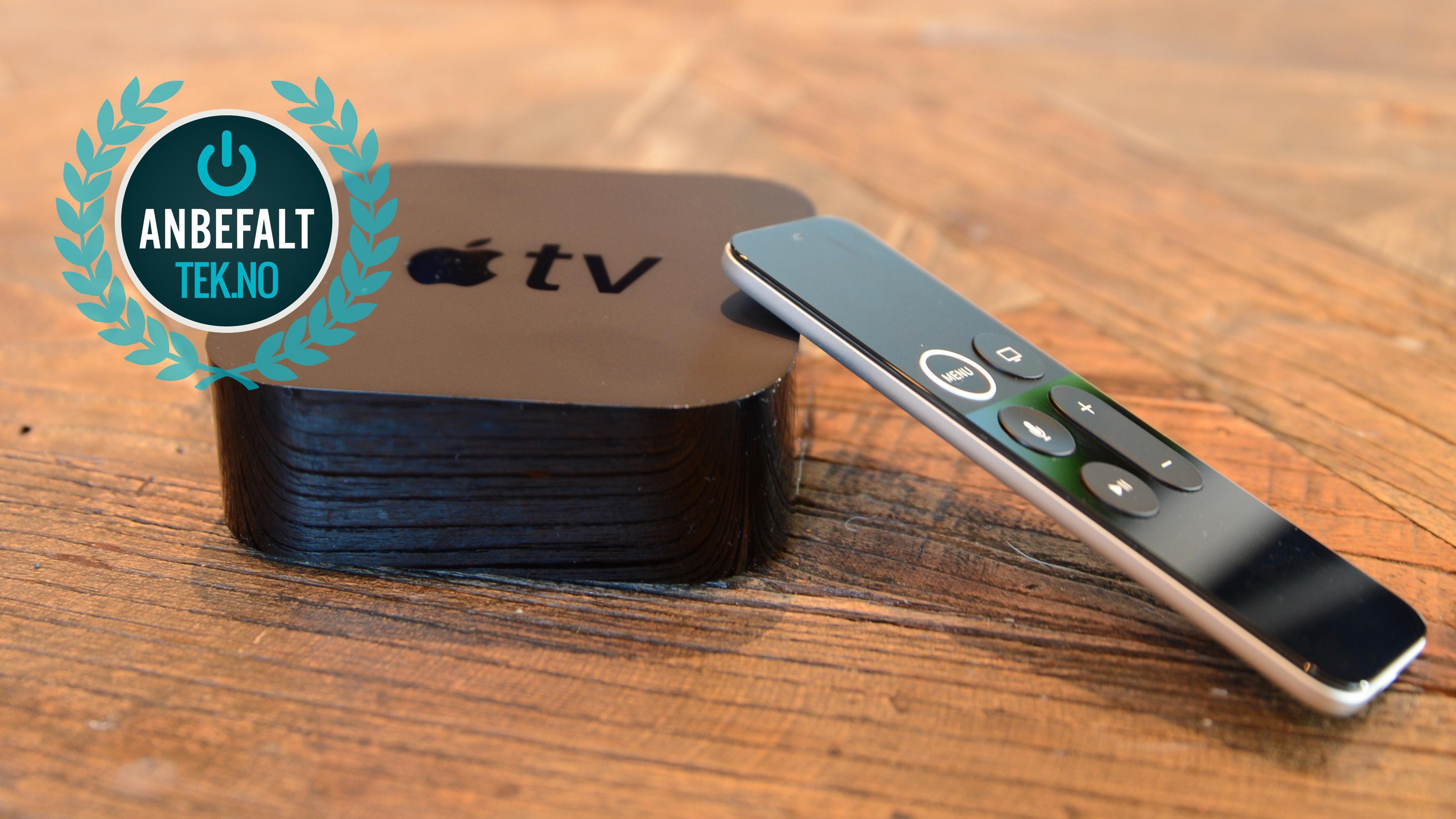 Apple TV 4K er uten tvil et anbefalt produkt.