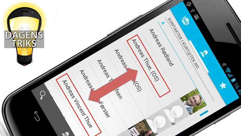 Bruk smarte tastesnarveier på mobilen Tek.no