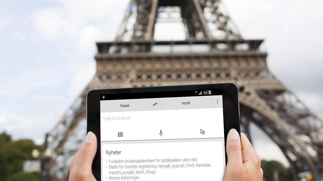 Kan Google Translate redde ferien?
