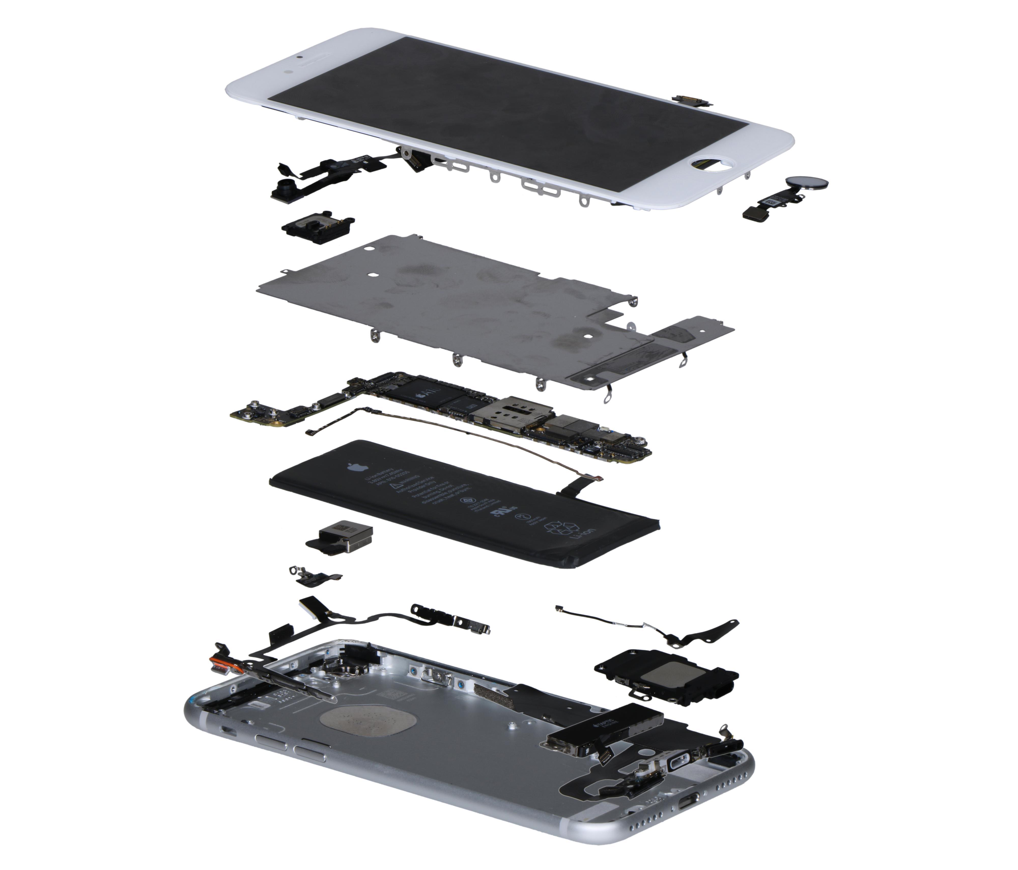 IHS demonterte iPhone 7 og gikk grundig gjennom alle komponentene for å finne totalprisen.