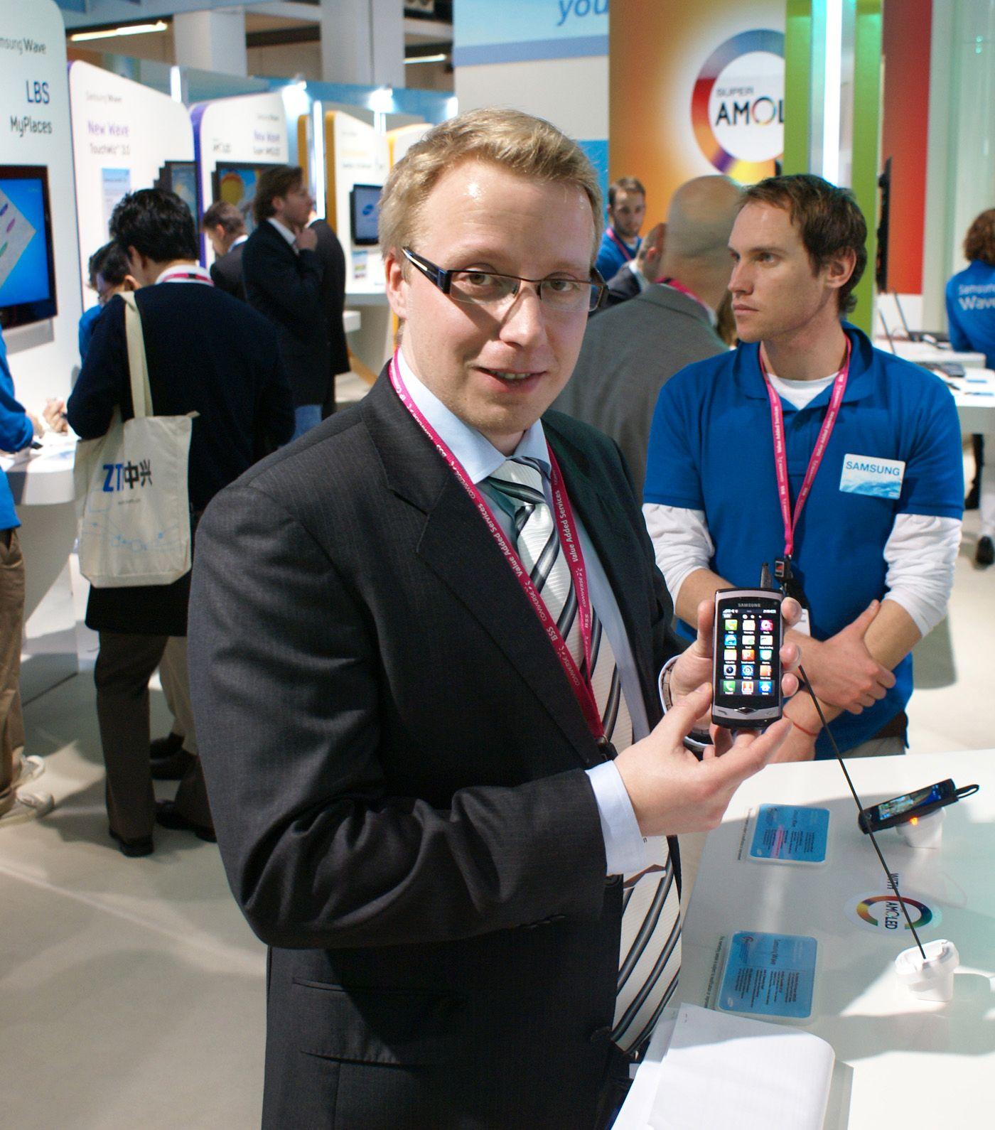Tommy B. Jensen er markedssjef for Samsung i Norge.
