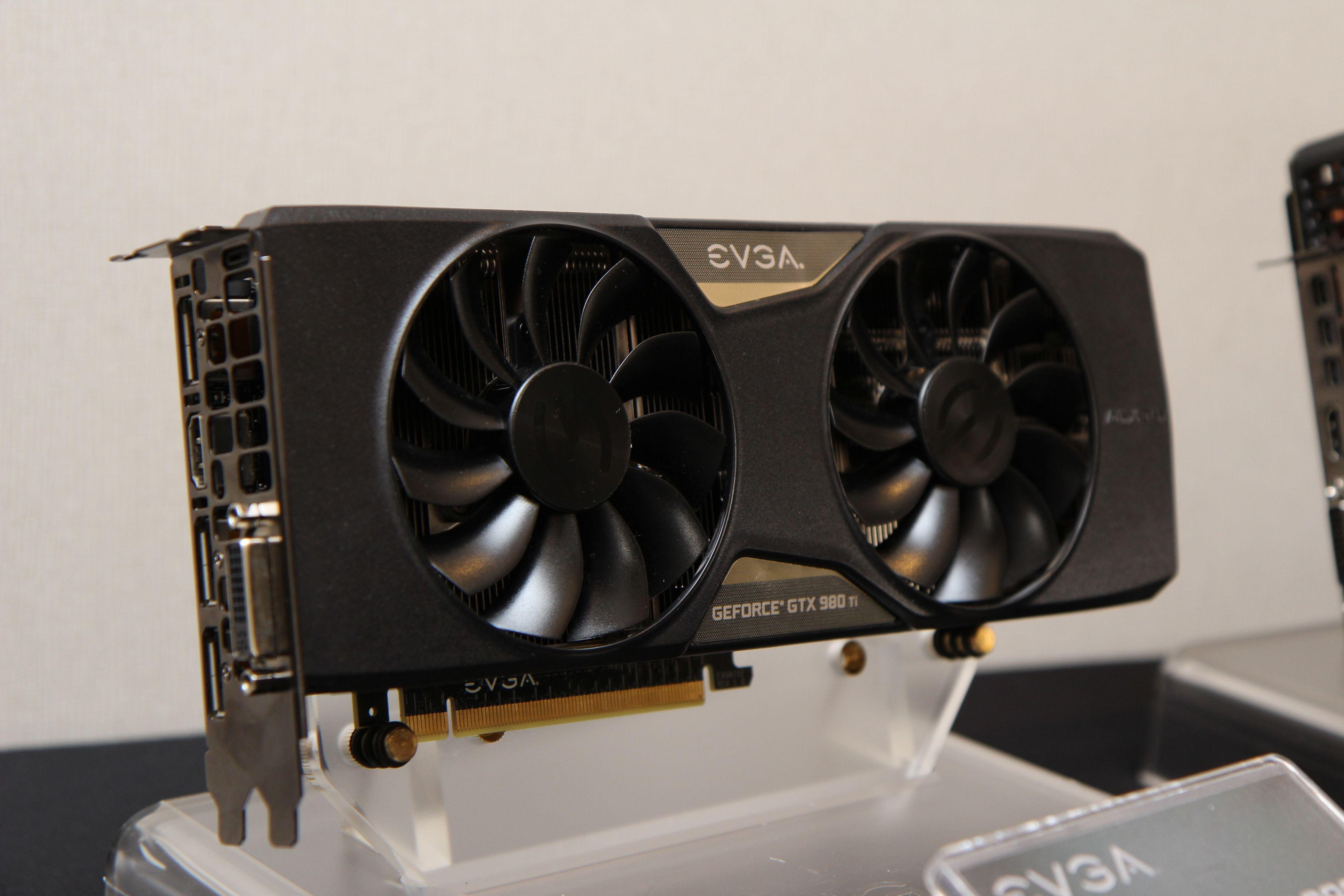 EVGA GeForce GTX 980 Ti. Foto: Kurt Lekanger, Tek.no