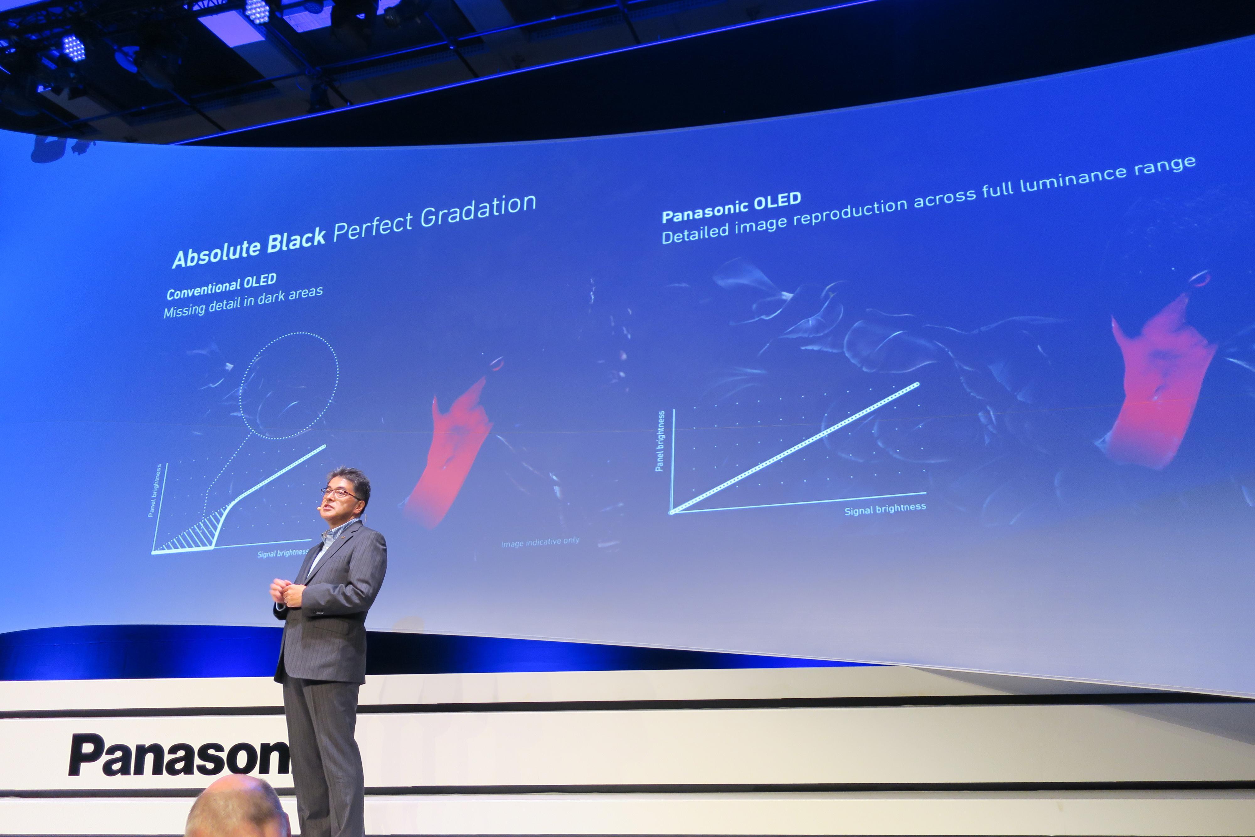 Denne fremvisningen var alt Panasonic sa om OLED. Dog ligger det i kortene at de jobber med en ny generasjon.