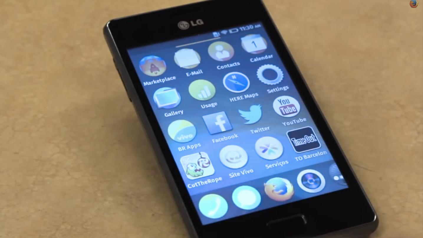Dette er LG Fireweb.Foto: firefoxchannel/Youtube