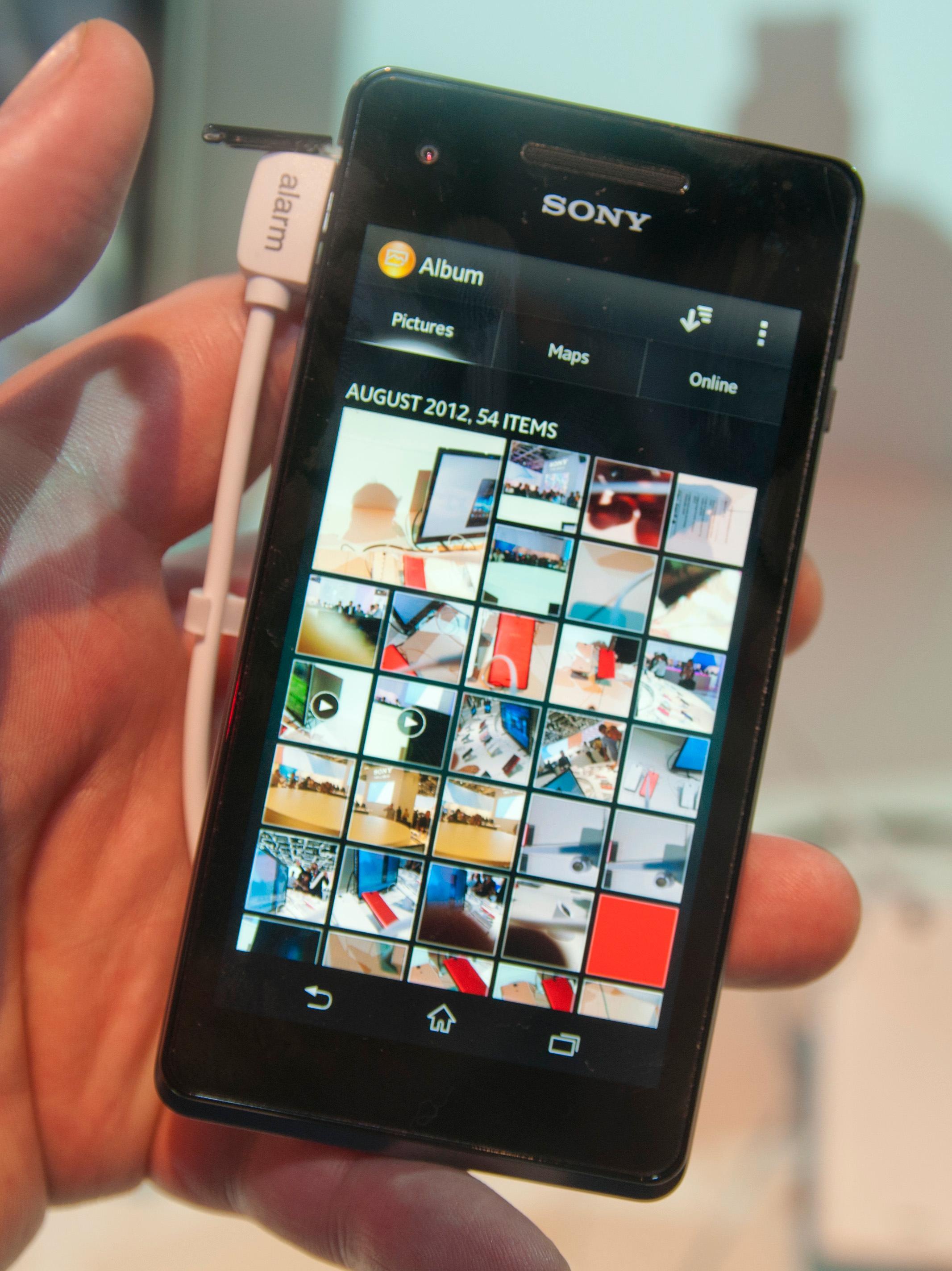 Sony har fått med sin egen galleriapplikasjon som de har kalt Album.