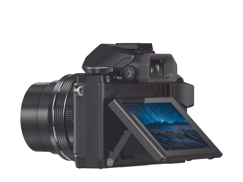 Olympus OM-D E-M10: Kompakt, men fleksibelt og avansert.Foto: Olympus