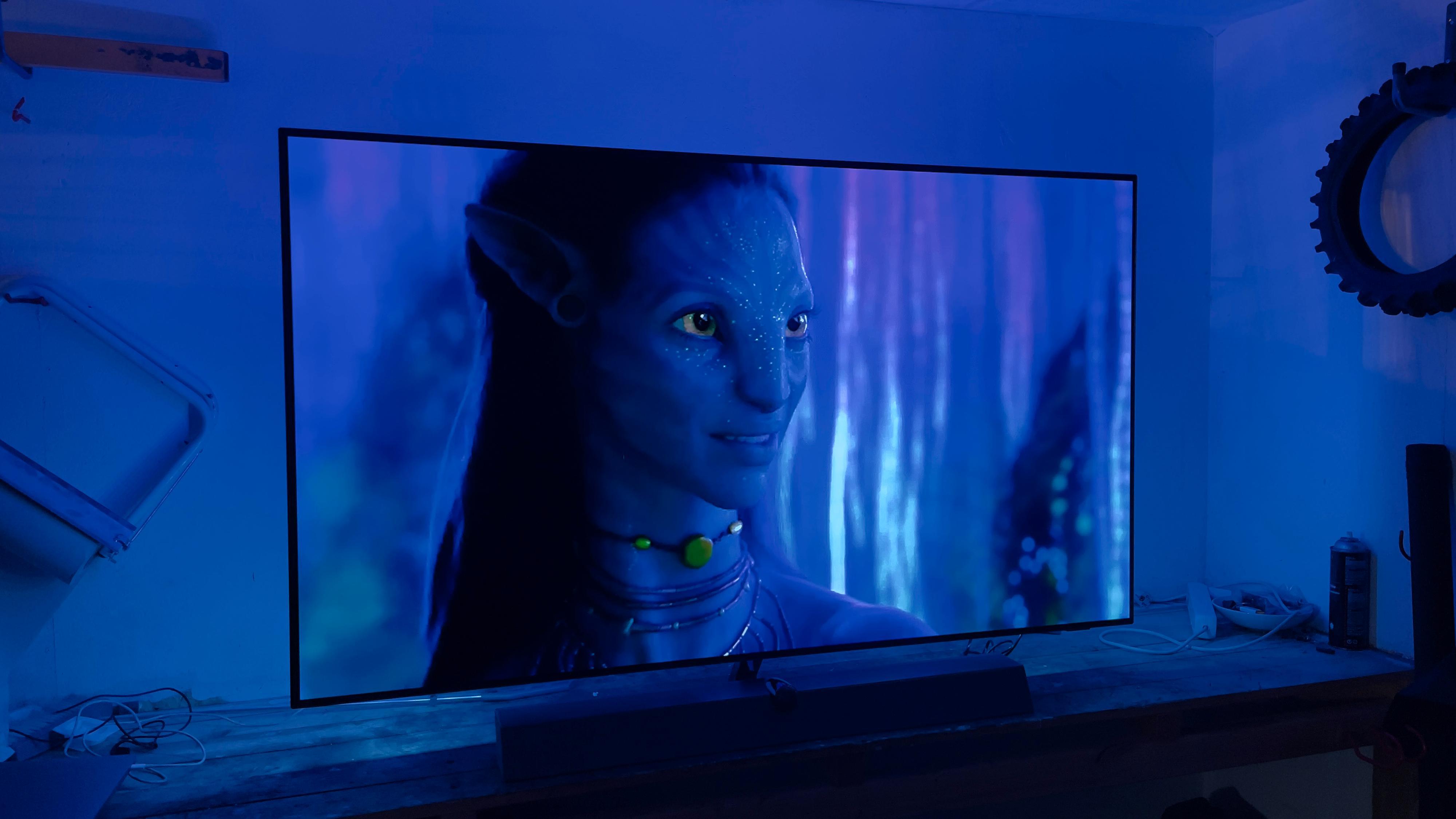 I stummende mørke gir OLED deg en knakende god filmopplevelse.