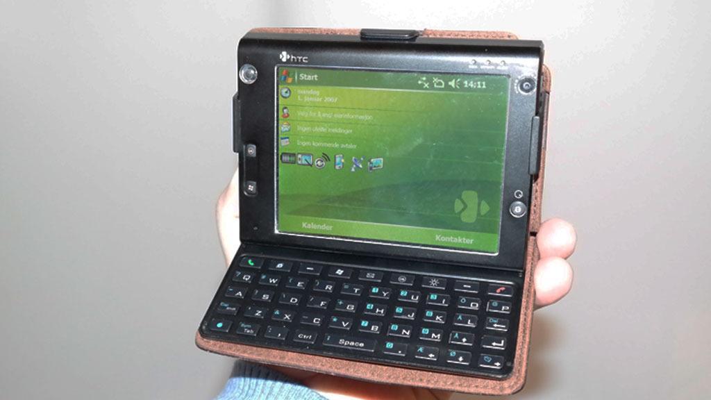 HTC Advantage minnet om en liten laptop. Foto: Espen Irwing Swang, Tek.no