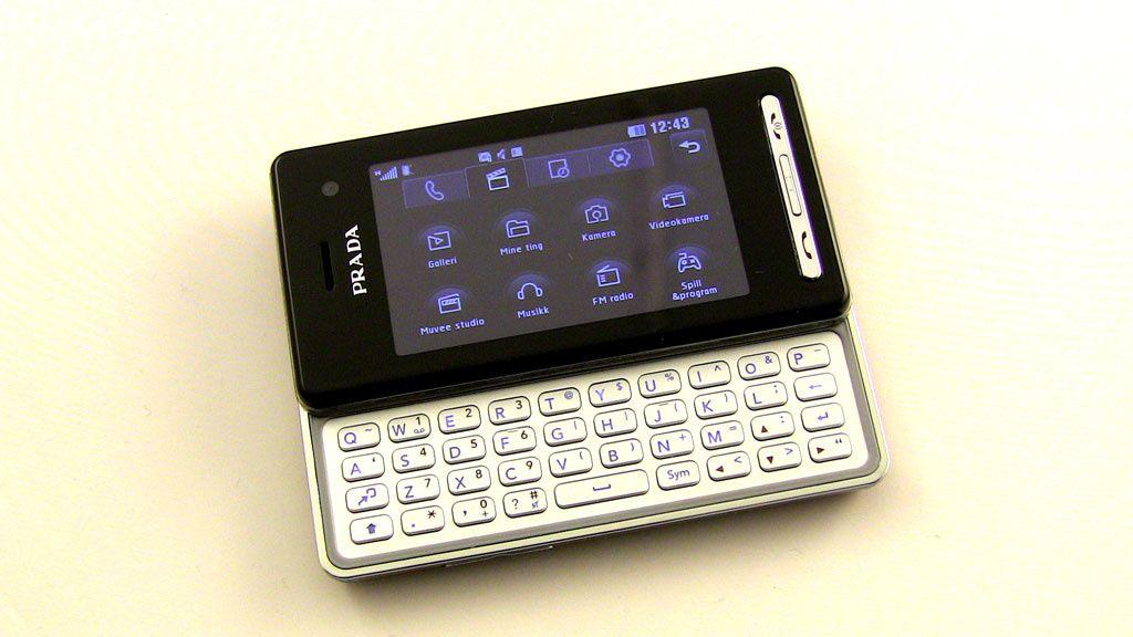 Test: LG KF900 – Prada for viderekommende