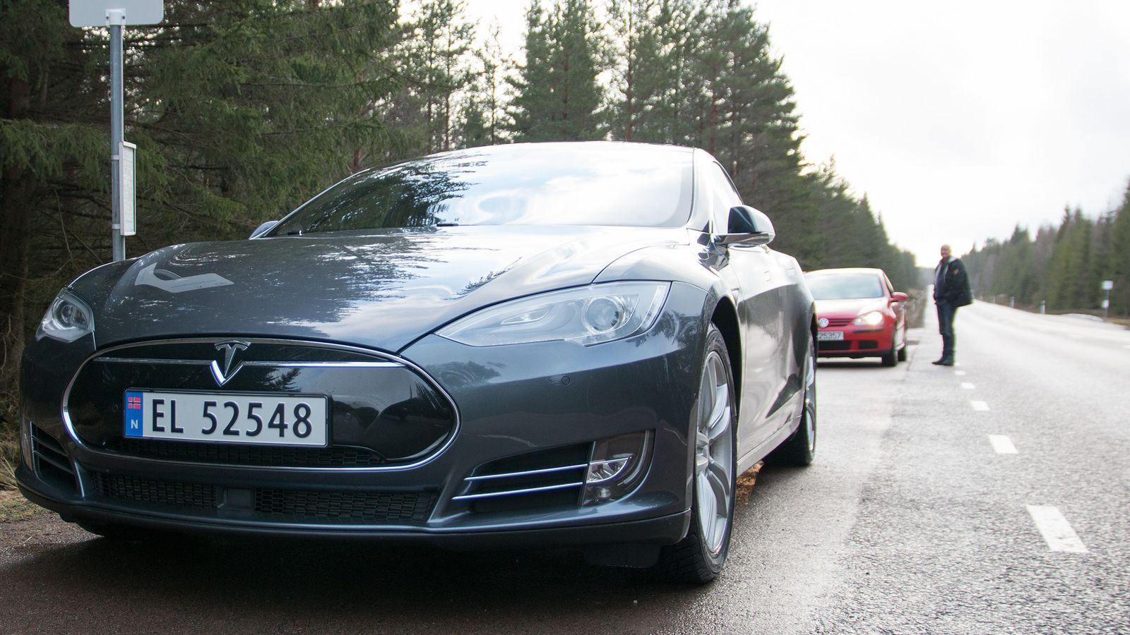 Tesla Model S P85D Test Tek.no