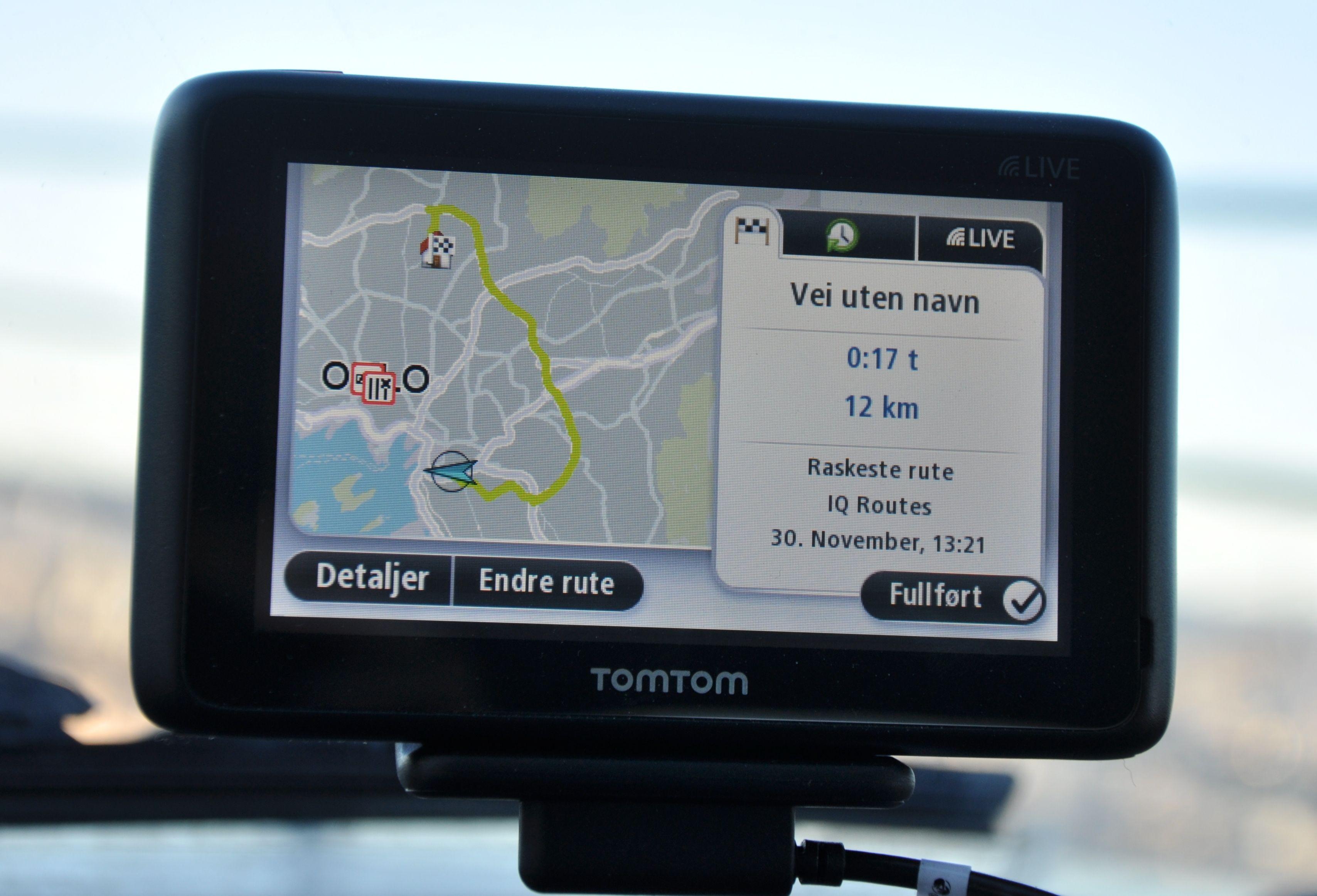 IQ Routes sørger for raskest mulig rute på forskjellige tider av døgnet.