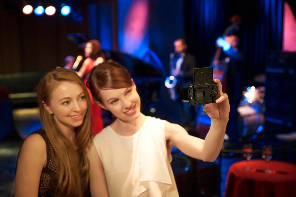 Smil til kameraet.Foto: Sony