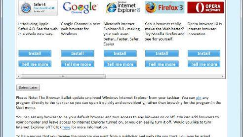Nytt nettleserforslag fra Microsoft