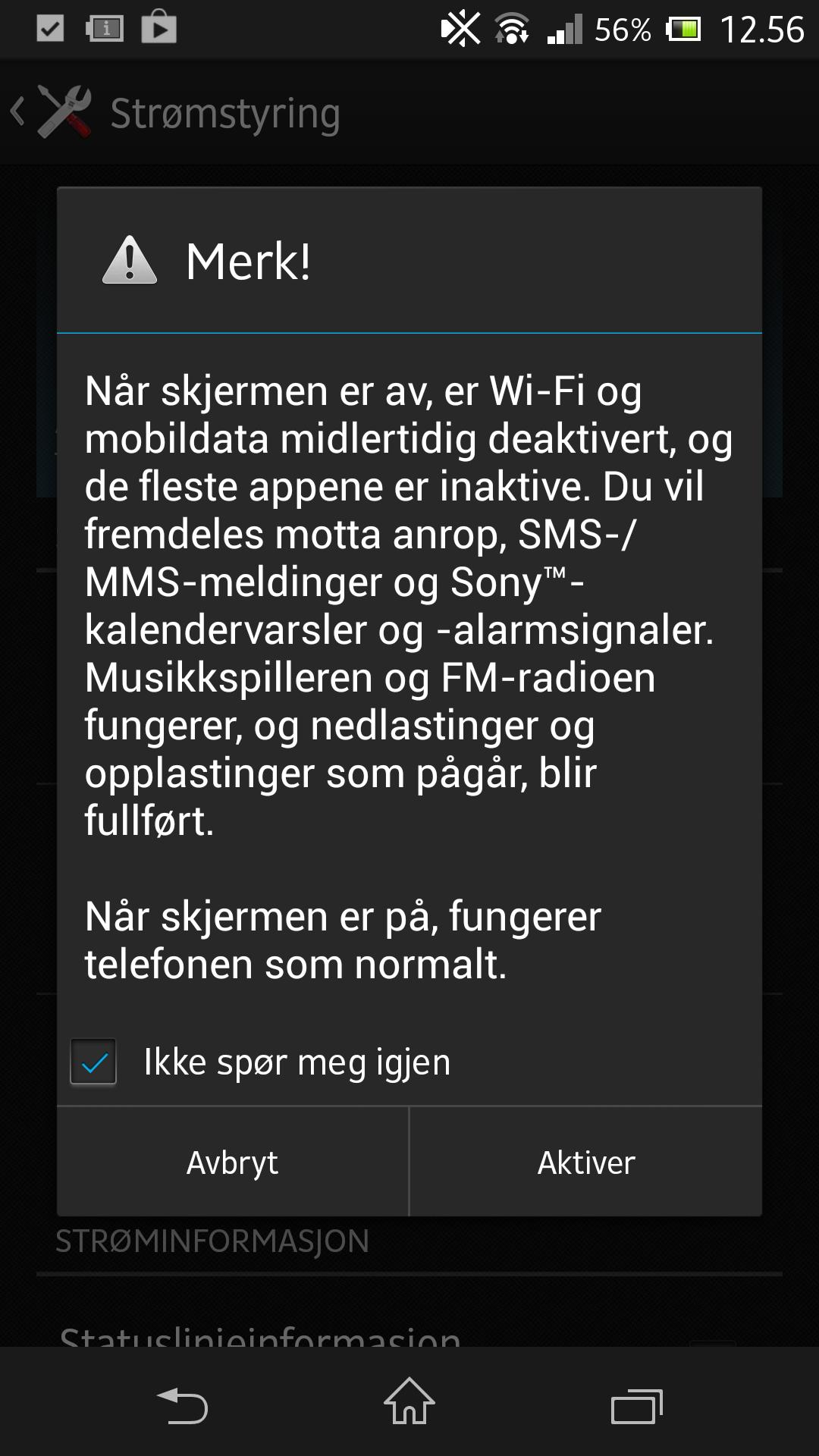 I Stamina Mode skrur telefonen automatisk av mange bakgrunnsfunksjoner.Foto: Finn Jarle Kvalheim, Amobil.no