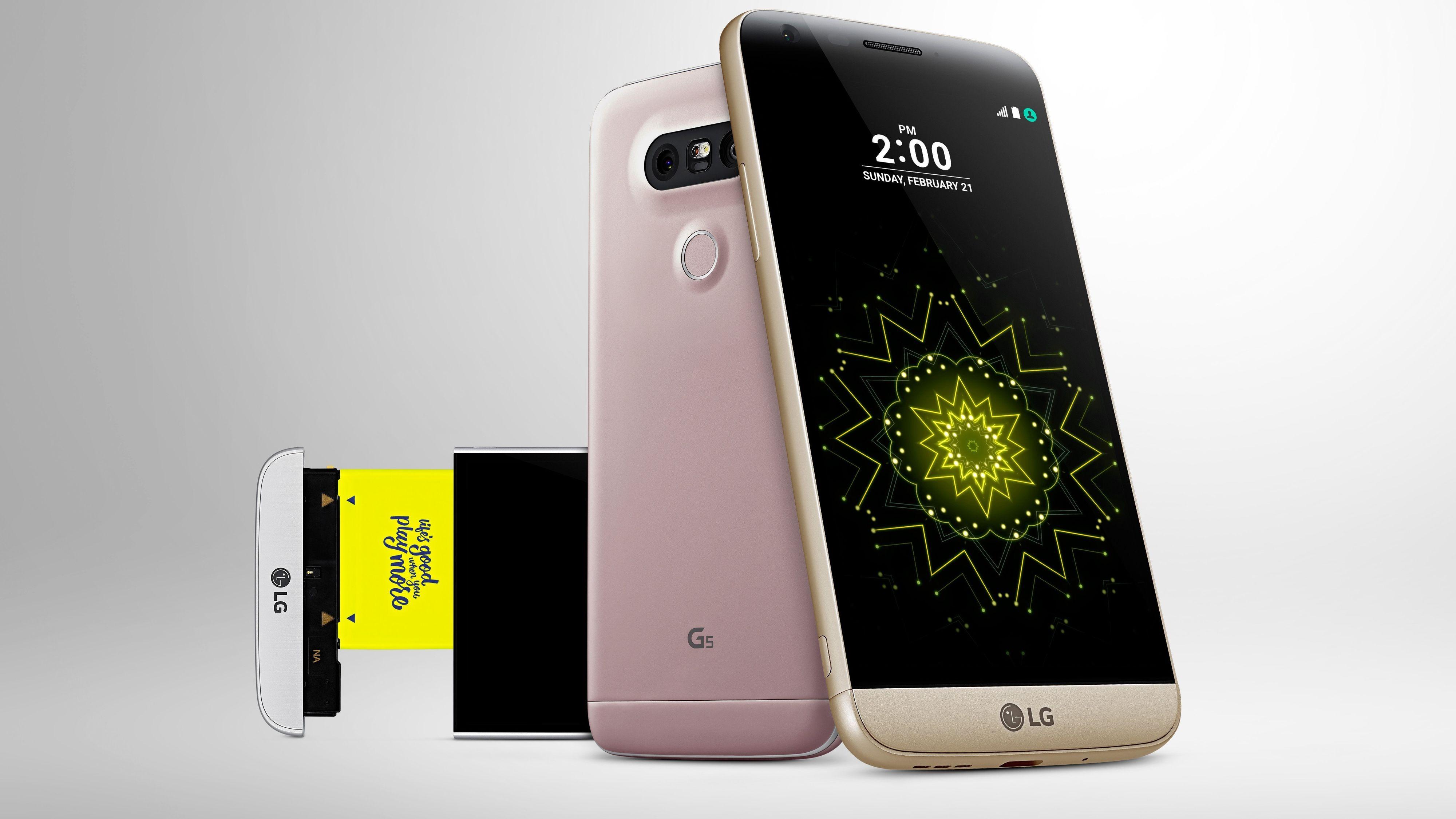 Dette er LG G5 – kanskje den eneste toppmodellen med utskiftbart batteri