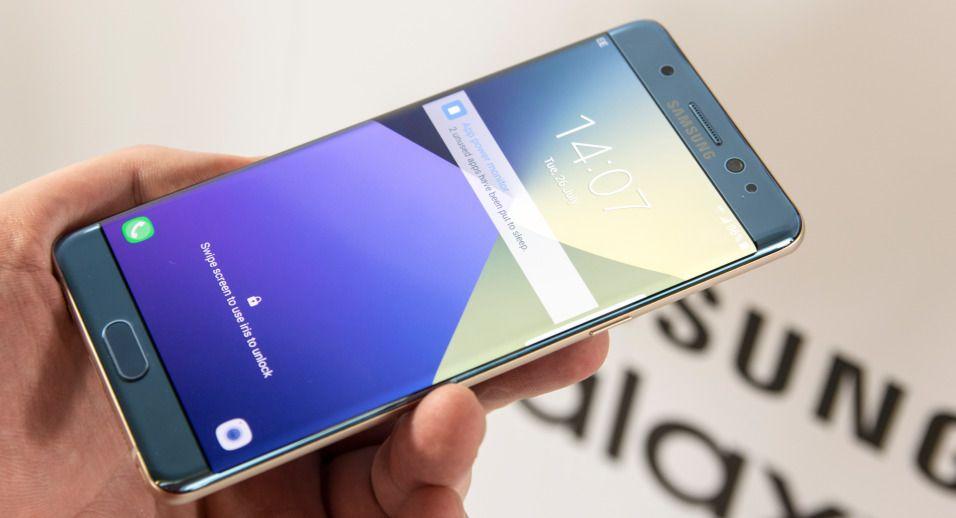 Galaxy Note 7 er på vei til markedet igjen