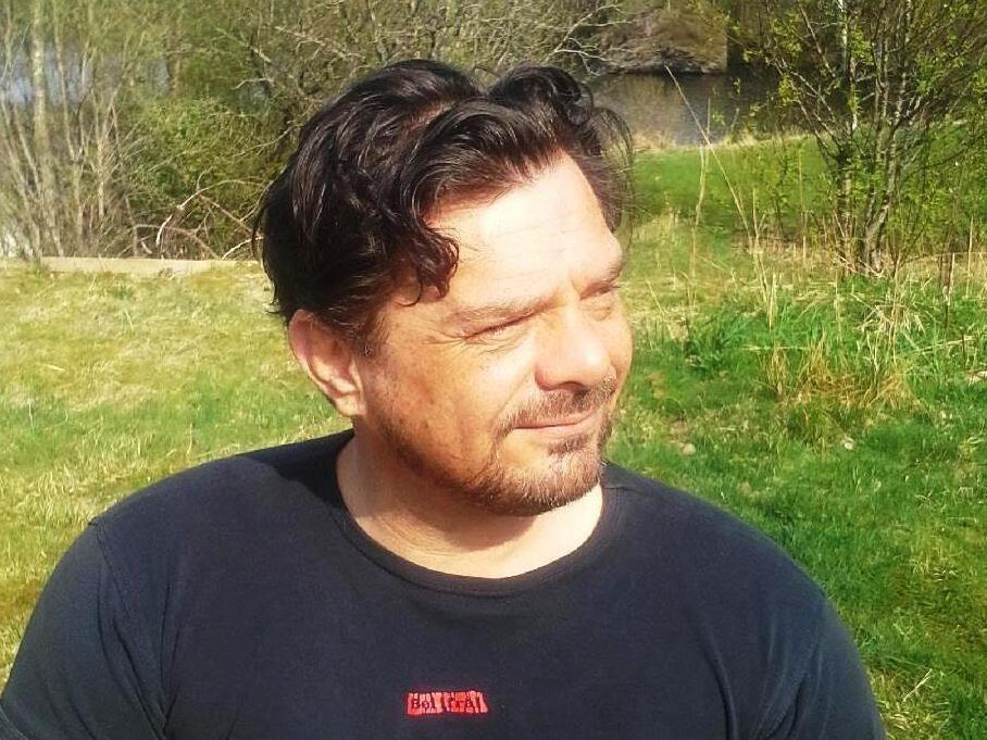 Henrik Styve får ikke brukt sin DJI-drone i Haugesund.