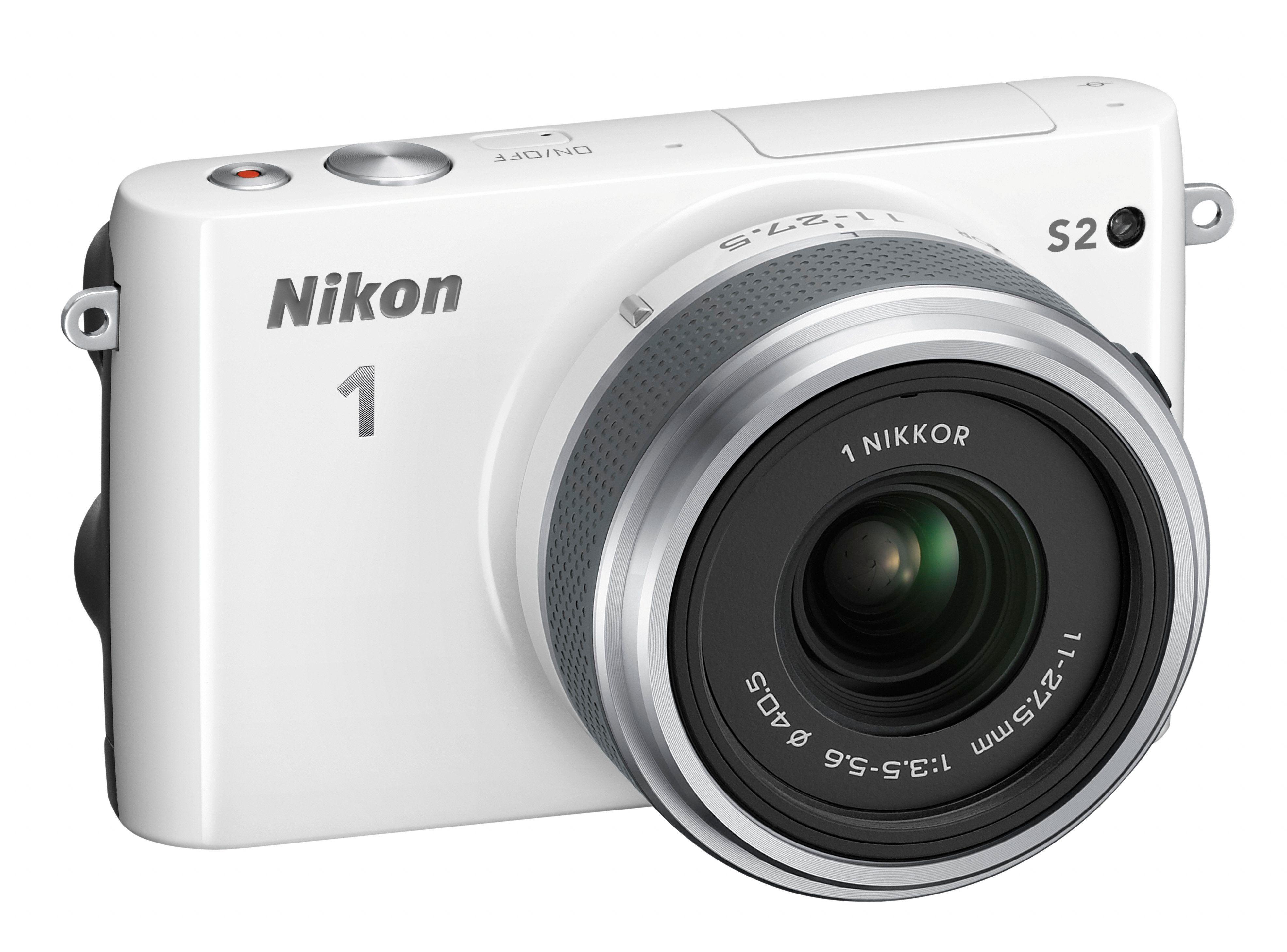 Kameraet kommer også i hvitt.Foto: Nikon