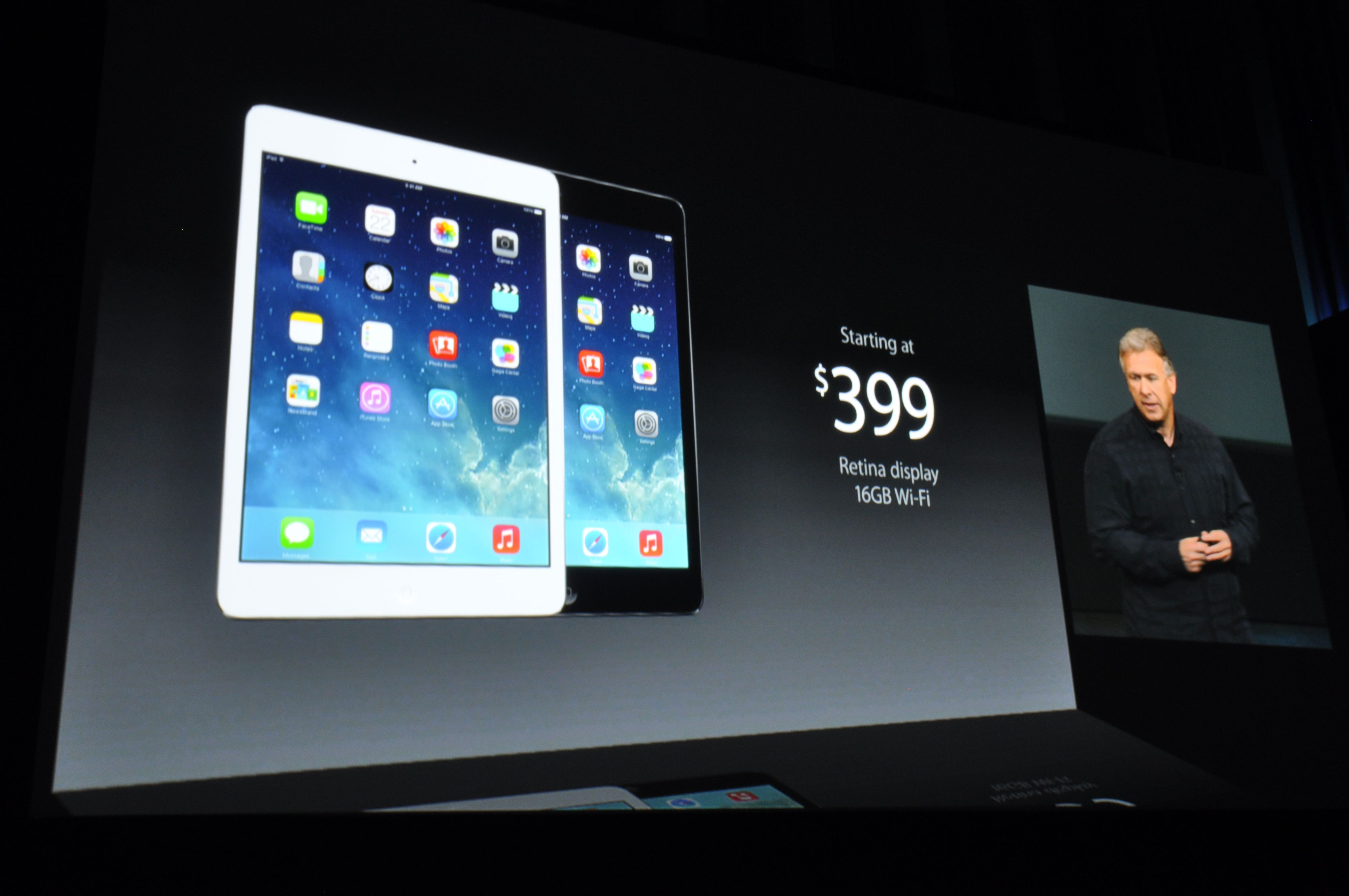 iPad Mini med Retina-skjerm er lansert.Foto: Finn Jarle Kvalheim, Amobil.no