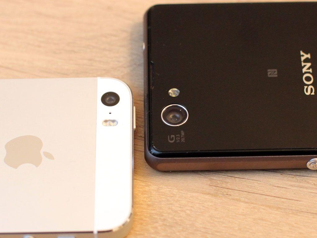 Sony Xperia z1 Compact har det beste kameraet.Foto: Espen Irwing Swang, Amobil.no