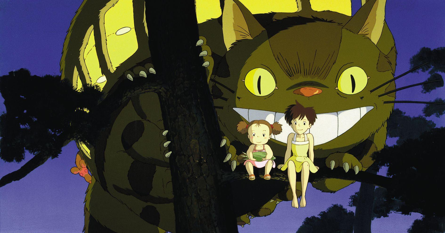 """""""Min nabo Totoro"""" er en av Studio Ghiblis mange filmer som blir vist under årets Film fra Sør-festival."""