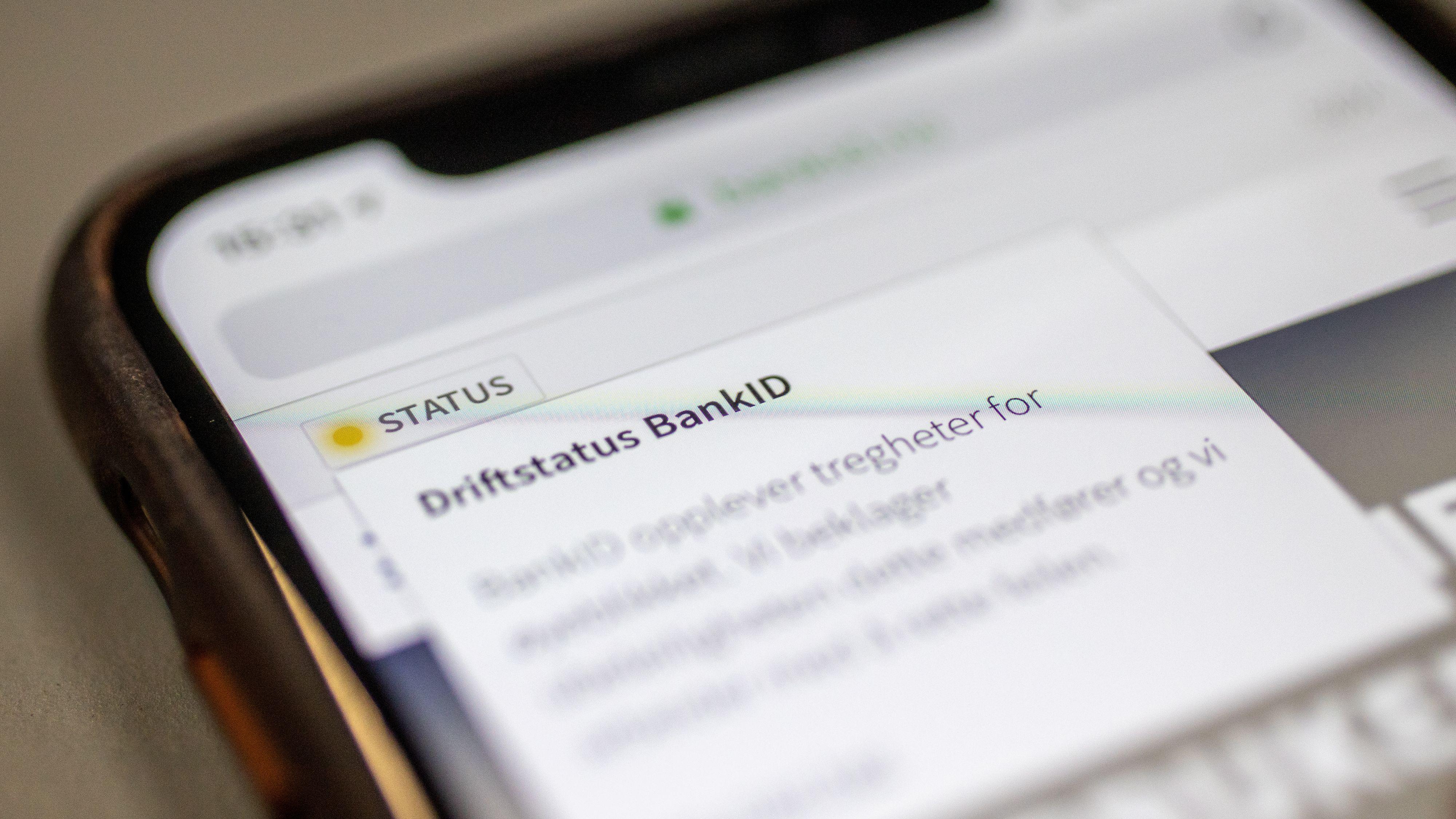 KrF om BankID-problemene: – Uholdbart