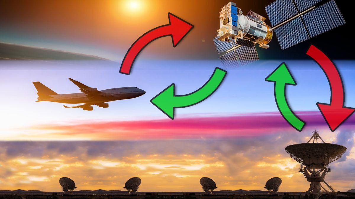 Slik virker Internett på flyet