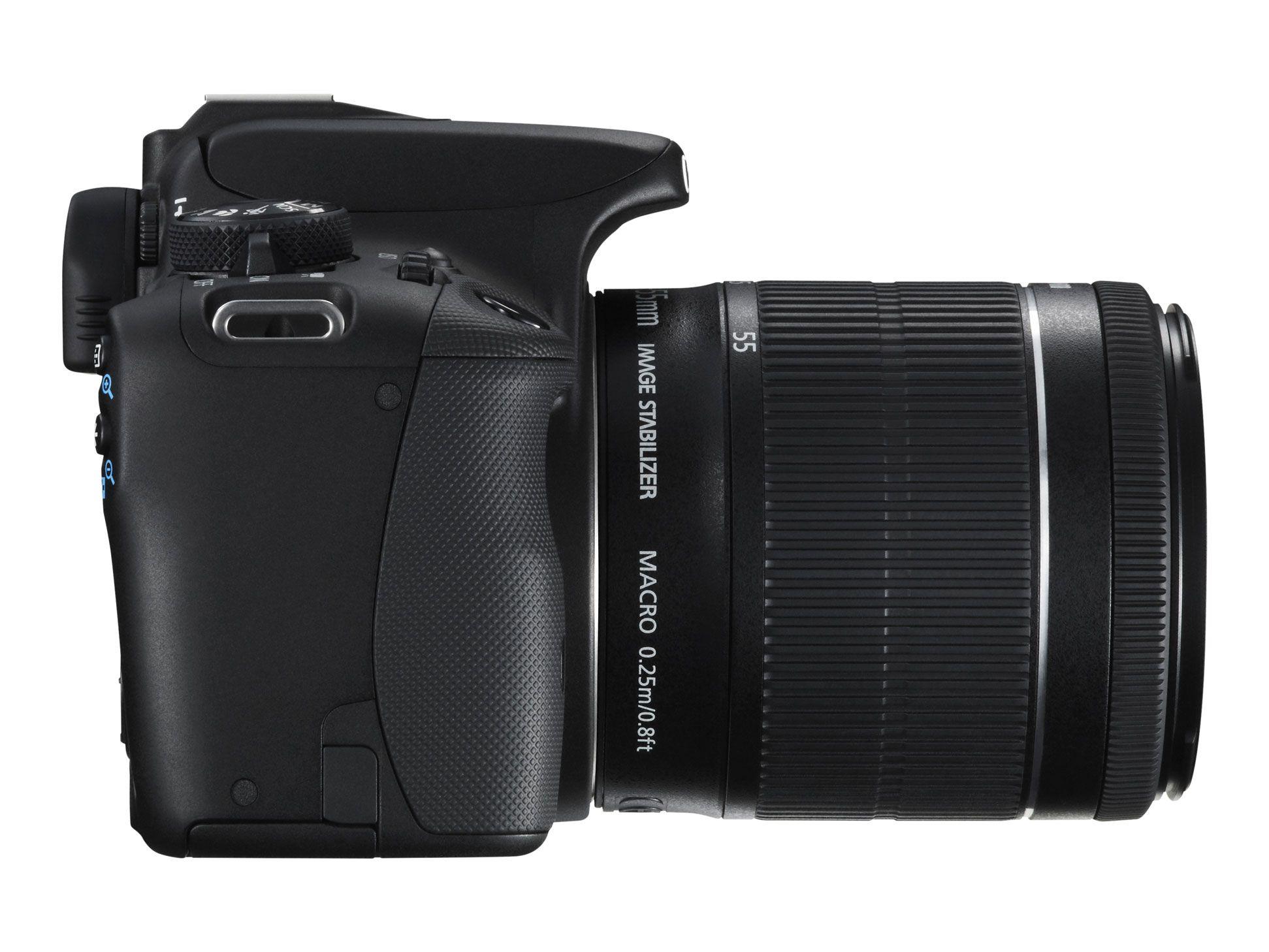 Canon EOS 100D er ikke store saken, men har Canon rett i at det er det minste?Foto: Canon