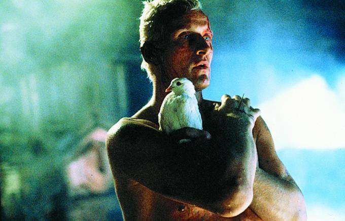 Rutger Hauer spiller en androide med dødsangst og sans for poesi, i en visuelt knallsterk film.