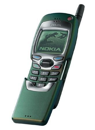 """Nokia-fans gikk mann av huse for å skaffe seg en 7110 med """"kjempeskjerm"""", styrehjul og WAP-støtte."""