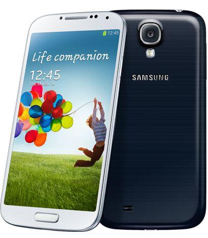 Samsungs Galaxy S4 dukker opp på plass nummer tre.Foto: Samsung