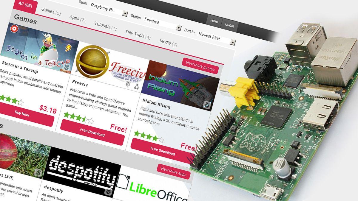 Raspberry Pi får egen app-butikk