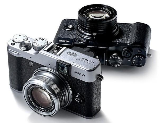Fujifilm X20. Foto: Fujifilm.