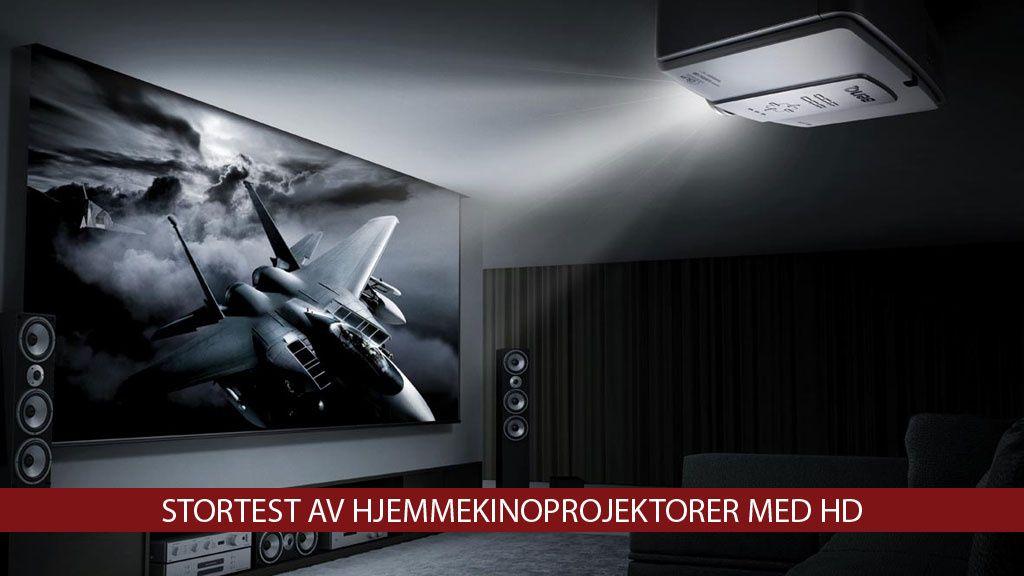 Stortest av HD-projektorer