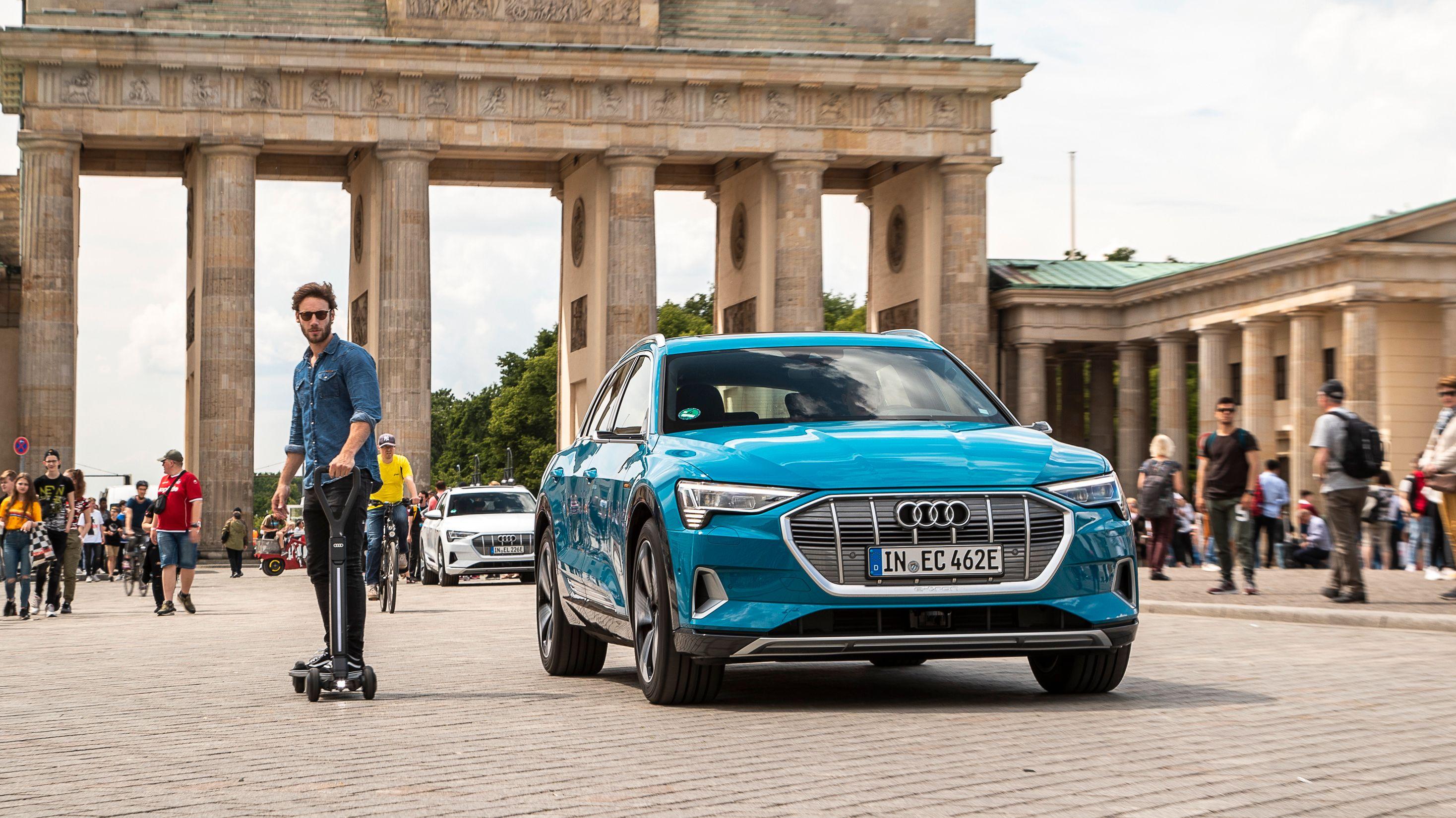 Scooteren vil selges til privatpersoner, ifølge Audi.