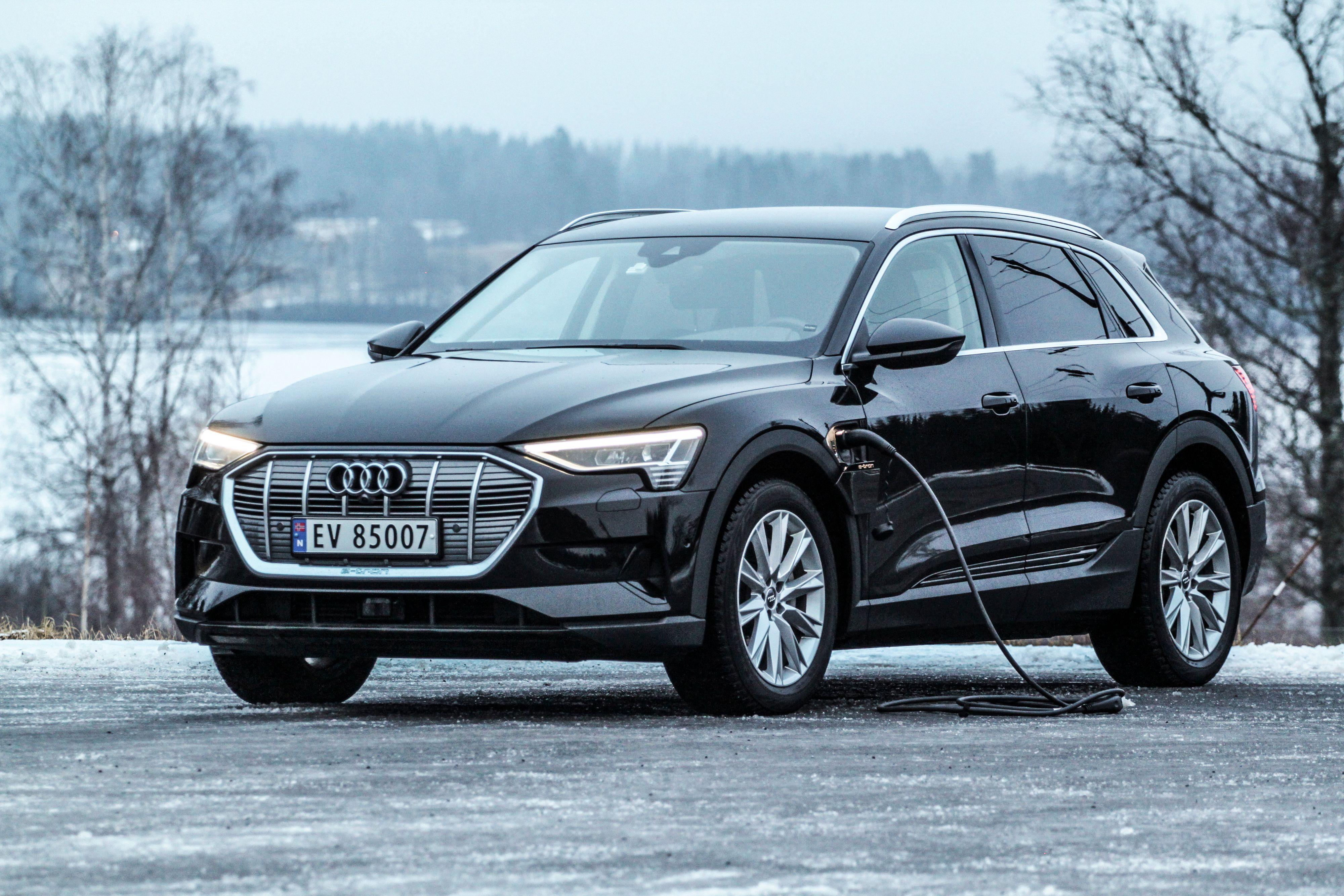 90 prosent av Audis norske leveranser i januar var e-tron. Den var også den mest solgte bilen av alle.